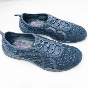 Skechers Relaxed Fit Breathe Easy Knit Sneakers